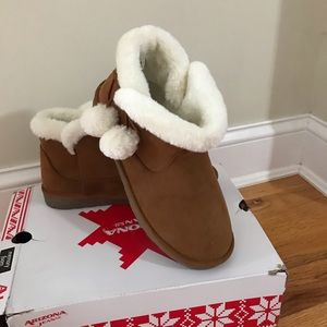 New cozy boots